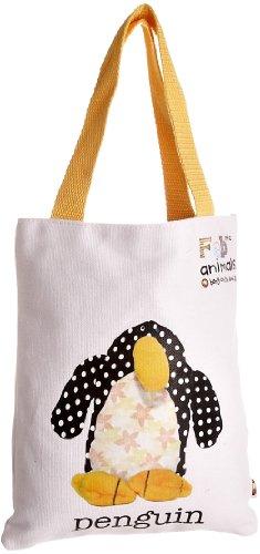 Fabric Animals, Borsa a spalla donna, bianco (Bianco) - FAB54 bianco