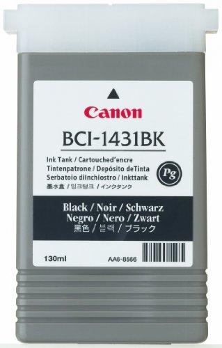 Canon BCI 1431BK Cartouche d'encre d'origine 1 x noir pigmenté