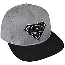 Superman-2200002237 Gorra premium New Era 58 cm, Color (Multicolor 001), 3 (Tamaño del fabricante:M) (Artesanía Cerdá 2200002237