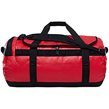 3e5eafc63 The North Face Base Camp Duffel Sports Bag, Unisex Adult, Red Red / TNF  Black, L