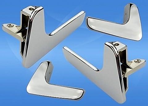 SEAT IBIZA/CORDOBA Tür Pull Griff Verriegelung Griffe links-rechts Seite 1998–2003 (Türdrücker Latch)