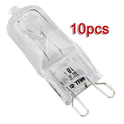 Sonline 10 x G9 230V 40W Halogen Birnen Licht Lampe
