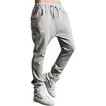 Minetom Hombres Harén Pantalones Deportivos Pantalones Casual Trotar Bailando Baggy Pantalones