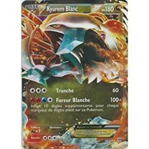 Nintendo - Carte Pokémon KYUREM BLANC EX HOLO REVERSE 96/135 N&B TEMPETE PLASMA FR