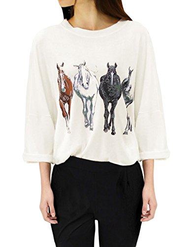 allegra-k-women-3-4-batwing-sleeve-horse-print-loose-t-shirt-tops-off-white-s-uk-8