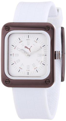 Puma Time Women's Quartz Watch Frame Brown PU102562006 with Rubber Strap