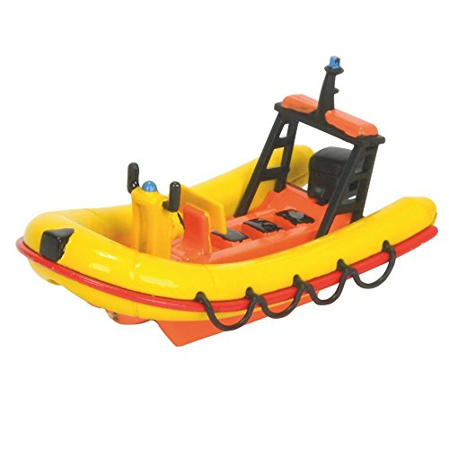 Feuerwehrmann Sam - Mini Die Cast Serie - Boot Rettungsboot Neptun