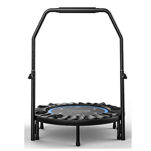 XZDFC Gute Qualität Indoor-Trampolin, Verstellbarer Lenker, Tragbar Und Faltbar for Heim-Herz-Lungen-Trainingsgeräte (Color : Blue)