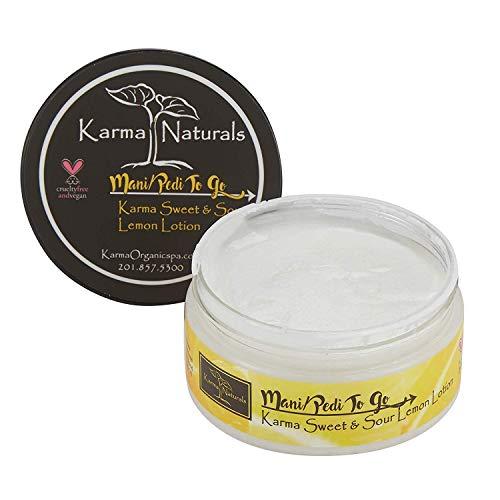Karma Organic Natural Lemon Lotion - Huiles essentielles pour un teint parfait, éclatant et équilibré