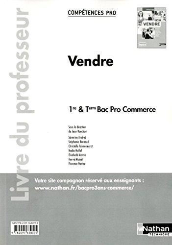 Vendre - 1re/ Term Bac Pro Commerce
