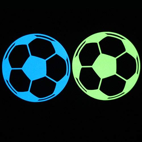 Fußball Leuchtschalter Aufkleber Kinder Leuchten Aufkleber In Der Dunkelheit Für Wohnkultur Wanddekoration Wohnzimmer Schlafzimmer Bett Über 10 Cm * 10 Cm