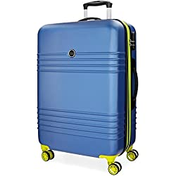 Roll Road India Maleta, 69 cm, 74 litros, Azul