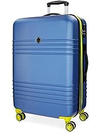 Roll Road India 5579364 Maleta, 79 cm, 110 Litros, Azul
