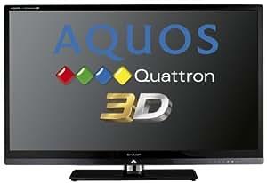 """Sharp LC-40LE830E TV LCD 40"""" (102 cm) LED 3D HDTV 1080p 200 Hz 4 HDMI Noir et Gris Classe : A"""
