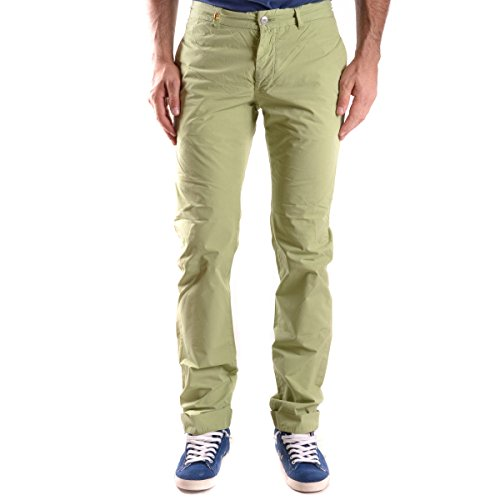 Pantaloni Daniele Alessandrini Verde