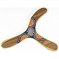 Boomerang para adultos, pinta a mano, el Warramba