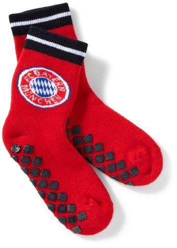 FC Bayern München Unisex - Baby Söckchen 580 1003 1, Gr. 19-22, Rot (16 rot)