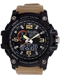 Skmei Analogue-Digital Black Dial Men's & Boy's Watch (Skmei-121283)