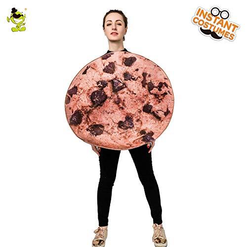 Keks Kostüm Kinder - GAOGUAIG AA Frauen Damen Kostüm Cookies