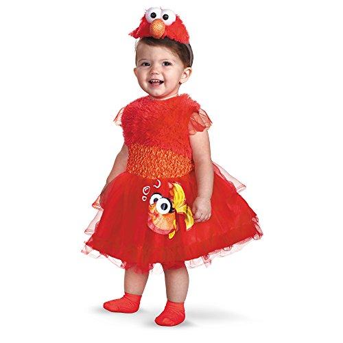 Street Sesame Kostüm Elmo - Frilly Elmo Infant (12-18 mths)
