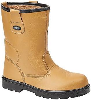 Tuffking 9050 - Calzado de Protección Para Hombre Marrón Canela, Color Marrón, Talla 47 EU (13 UK)