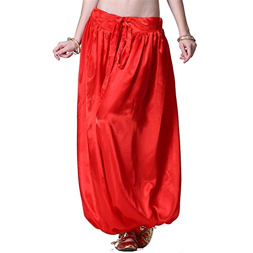 Bauchtanz Hüfttuch Damen Tanzen Kleider Bloomers Bauchtanz Hose Harem Hose Tanzen (Outfits Toga Sexy)