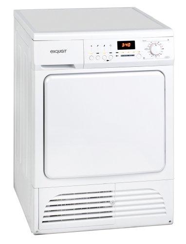 Exquisit TK810 Kondenstrockner / B / 4.5 kWh / 8 kg / weiß