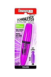Rimmel Scandaleyes Show Off Mascara, Extreme Black, 0.41 Fluid Ounce