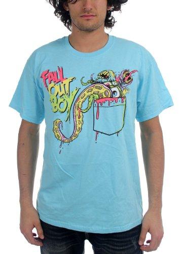 Fall Out Boy–Pocket Mens S/S T-Shirt in türkis Türkis - Türkis
