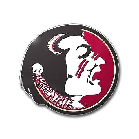 Florida State Seminoles Color Auto Emblem - Die Cut