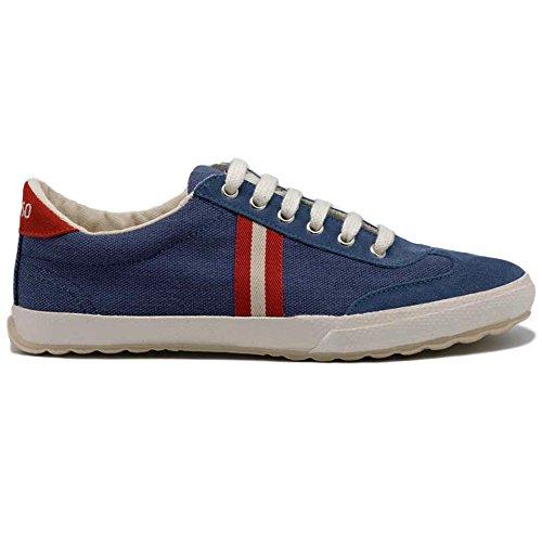 El Ganso, Zapatos de Cordones Oxford para Hombre, Azul (Marino Único), 45 EU