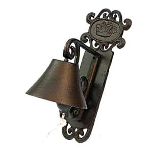 t rglocke f r den garten zur anbringung an der wand guss garten. Black Bedroom Furniture Sets. Home Design Ideas