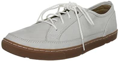 Mens Rockport Casual Leather White/Gum Shoes- Size 9