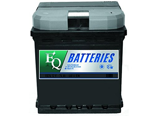 Equal Quality E545SEQ Batteria Auto 45Ah Pronta all'Uso Polo Positivo a Sinistra, Mod. Stretto
