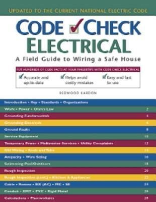 [ { Code Check Electrical: An Illustrated Guide to Wiring a Safe House } ] BY ( Author ) Jun-2014 [ Paperback ]