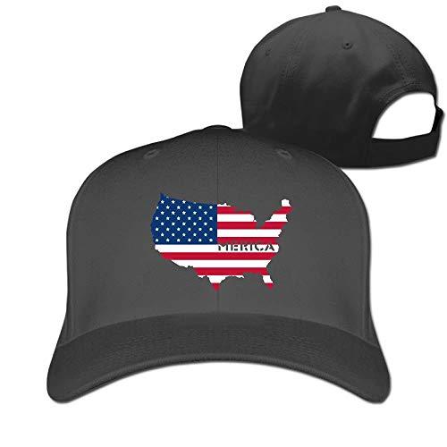 Rghkjlp 4. Juli Merica Flag Unisex Vintage Baseball Caps Washed einstellbare Papa Hüte Multicolor86 (4. Juli Baseball-hüte)