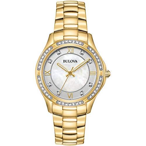 Quarz Uhr mit Edelstahl Armband 98L256 ()