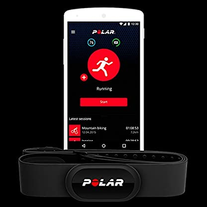 Sensor de frecuencia cardíaca Polar H10, conectividad Bluetooth unisex