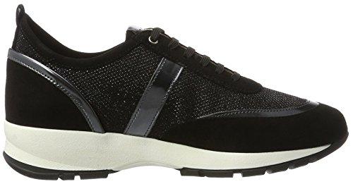 Unisa Elisa_ev, Sneakers Basses Femme Noir (Black)