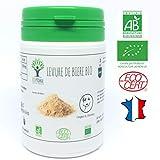 Levure de bière bio | 60 gélules | Complément alimentaire | Ongles & Cheveux | Bioptimal - nutrition naturelle | Fabriqué en France