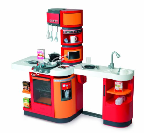 Smoby - 24250 - Jeu d'imitation - Cuisine - Cook Master - Rouge / Orange