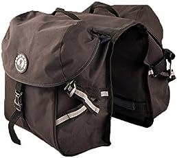 TREK 'N' RIDE Polyester Cycle Pannier (Black)