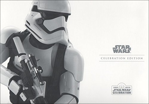 Disney Official Star Wars Celebration Europe Limited Edition Storm Trooper Special Stamp Collectors Pack