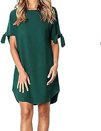 8c480a052927 Amazon.it  vestito verde - A bustier   Vestiti   Donna  Abbigliamento