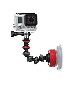 Joby Suction Cup & Gorillapod Arm Trépied Bras Flexible pour Smartphone Noir/Rouge