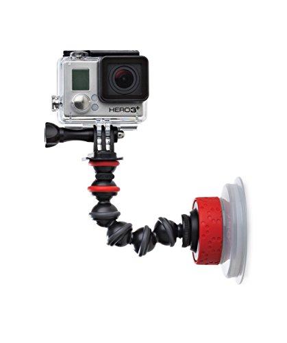 Joby Suction Cup und GorillaPod Arm (Saugnapfhalterung für Action Cams) schwarz (Gopro Suction Cup Mount)