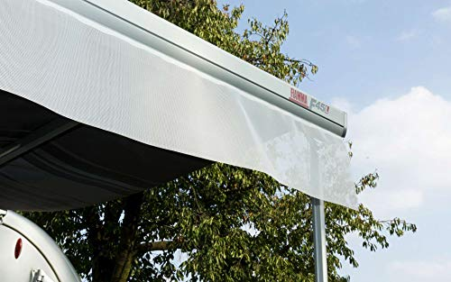 Polyester grau Alu-Markise MCW-E49 Gelenkarmmarkise Sonnenschutz 2,5x2m