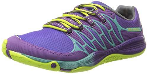 Merrell ALLOUT FUSE, Chaussures de Fitness femme Multicolore - Mehrfarbig (PURPLE/LIME)