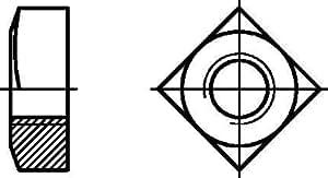 Vierkantmuttern VKM-gv 557