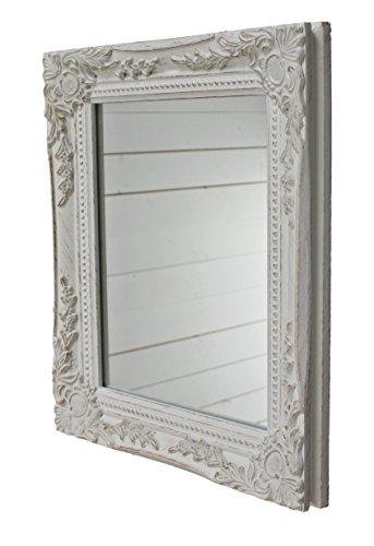 32x27x3cm-rectngulo-espejo-de-pared-vendimia-antiguo-marco-de-madera-hecho-a-mano-blanco-incluido-prensin